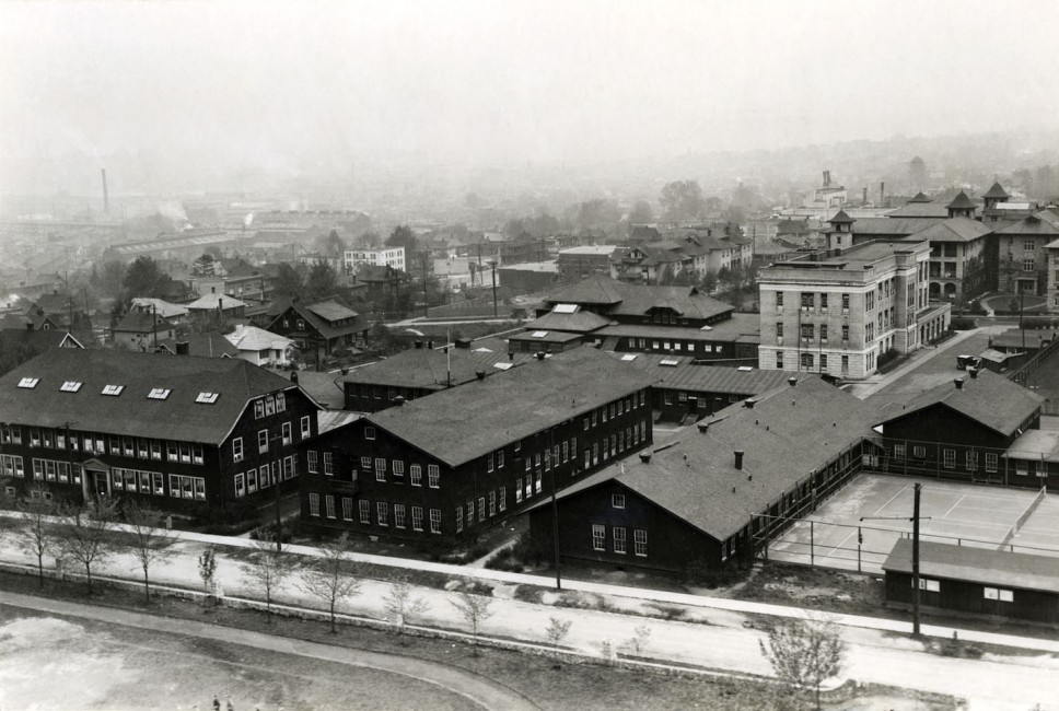 1915 - UBC Opens on the Fairview Campus
