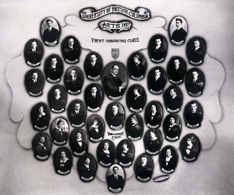 1916 - The First Class Graduates