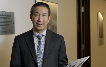 Dr. Raymond Lam, Director of the Mood Disorders Clinic