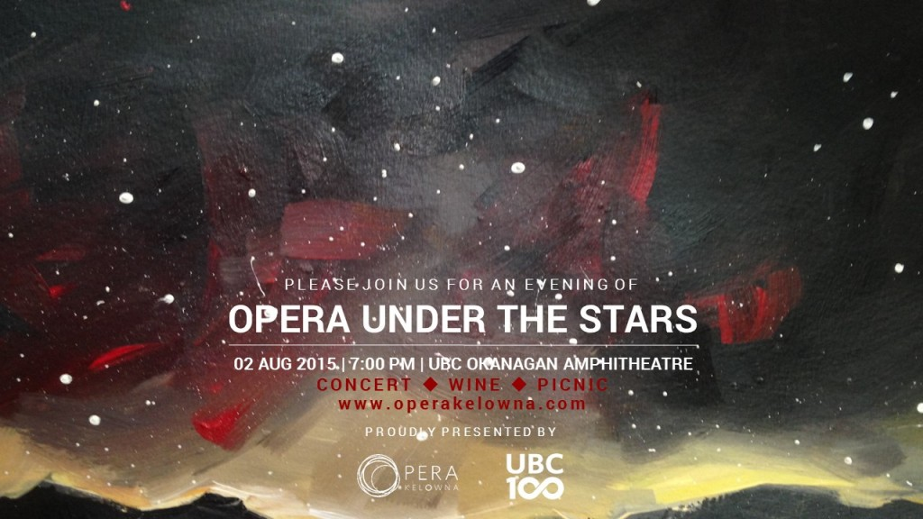 Opera Under the Stars Invitaton