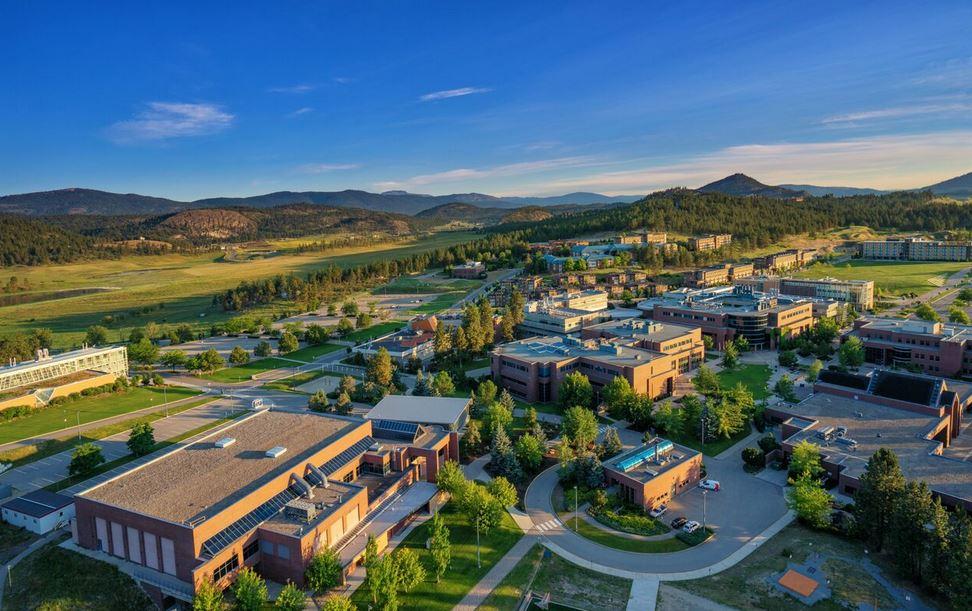 Okanagan Campus Aerial