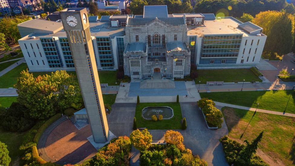 Aerials Main Mall